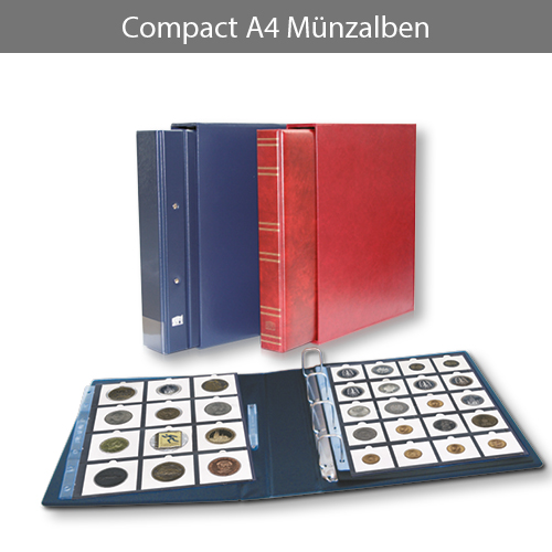 Compact A4 Münzalben
